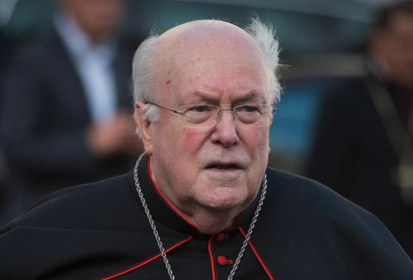 Belgian Cardinal Godfried Danneels.