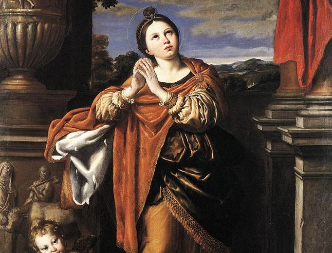 """Domenichino (1581–1641), """"Saint Agnes"""""""