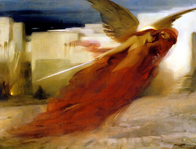 Arthur Hacker, And There Was a Great Cry in Egypt, 1897