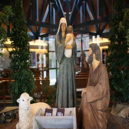 Bethlehem, Conn.'s Church of the Nativity remembers the birth of Jesus year-round.