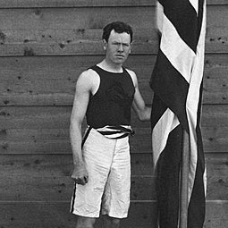 James Brendan Connolly at the 1896 Olympics in Athens.