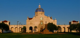 The adoration chapel at Our Lady of Corpus Christi College in Texas