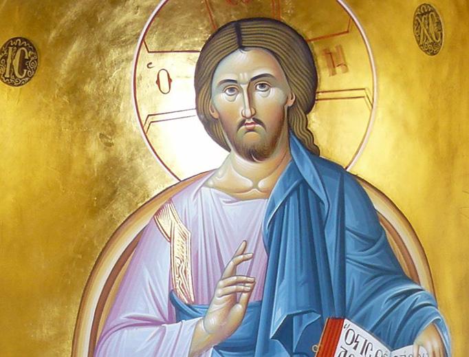 Christ Pantocrator, Holy Trinity Monastery, Meteora, Greece