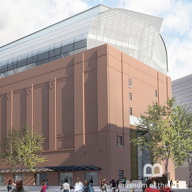 A rendering of what the Museum of the Bible will look like when it opens in 2017.