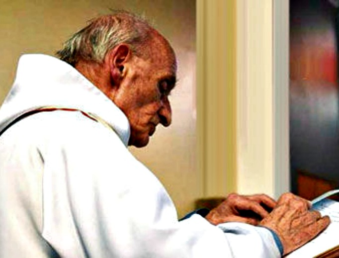 Father Jacques Hamel, priest and martyr.
