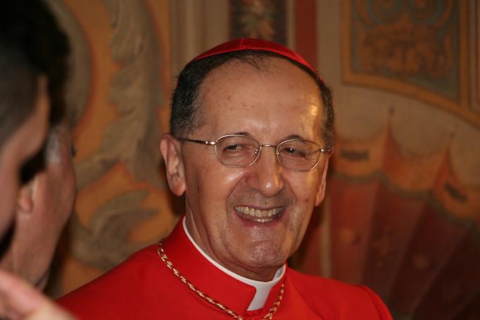 Cardinal Beniamino Stella, prefect of the Congregation for Clergy.