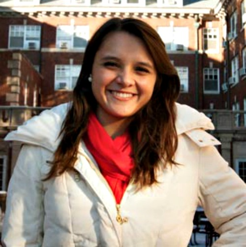Annette Popernick, a University of Illinois student who has lived in Newman Hall for four years.