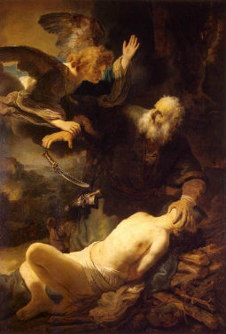 Sacrifice of Isaac (Rembrandt, 1635)