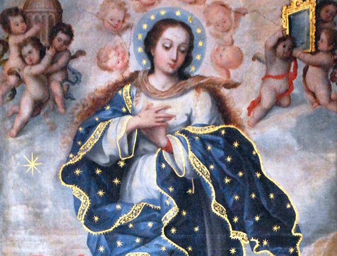 """Anonymous, """"Immaculate Conception,"""" San Francisco Church in San Cristobal de las Casas, Chiapas, Mexico"""