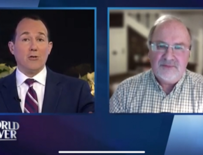 Raymond Arroyo of The World Over speaks to former Anglican bishop Gavin Ashenden, December 19, 2019.