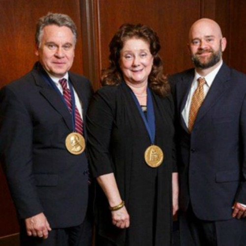 (L-R) Rep. Chris Smith, R-N.J., Marie Smith and O. Carter Snead, director of the Center for Ethics and Culture at the University of Notre Dame