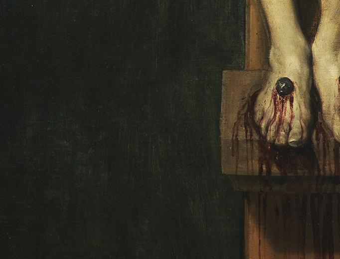 "Diego Velázquez, ""Christ Crucified"" (detail), c. 1632"