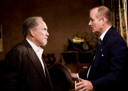 CHARACTER STUDY. Robert Duvall and Bill Murray star in Get Low.