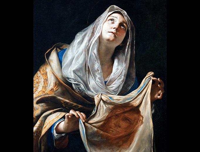 "Mattia Preti, ""Saint Veronica with the Veil"", between 1655 and 1660"