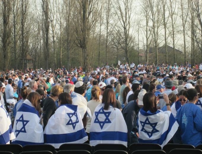 On April 12, Polish Catholics were among the 12,000 participants in the 'March of the Living,' a Polish-based Holocaust education program that culminates with a march from the Nazi camp of Auschwitz to Birkenau, a section of Auschwitz. During the march, many of the Jewish participants held Israeli flags or wore flags around their shoulders. Polish Catholic high-school students participated in the march. They brought signs with the English and Hebrew words of the Old Testament Priestly Blessing that begins: 'The Lord Bless You and Keep You' (Numbers 6:24-26). They said they wanted 'to bless' the Jewish people.