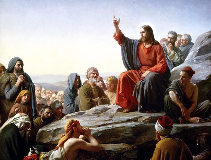 Carl Bloch, The Sermon on the Mount, 1877
