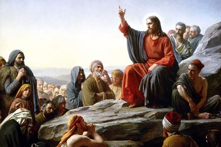 "Carl Bloch, ""The Sermon on the Mount"", 1877"