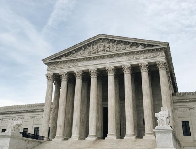 Supreme Court building in Washington, D.C.
