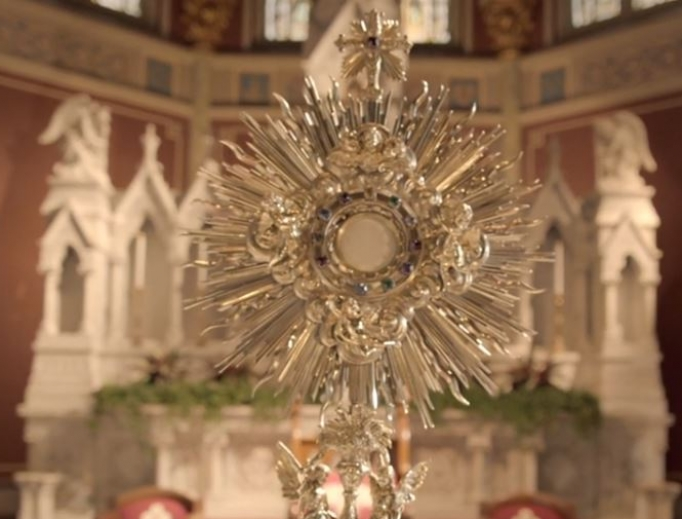 The Eucharist draws many people home to the Church.