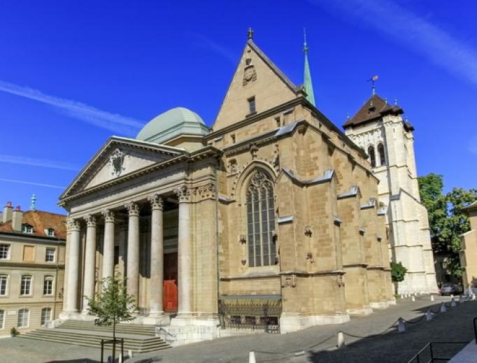 Cathedral of Saint-Pierre de Genève.