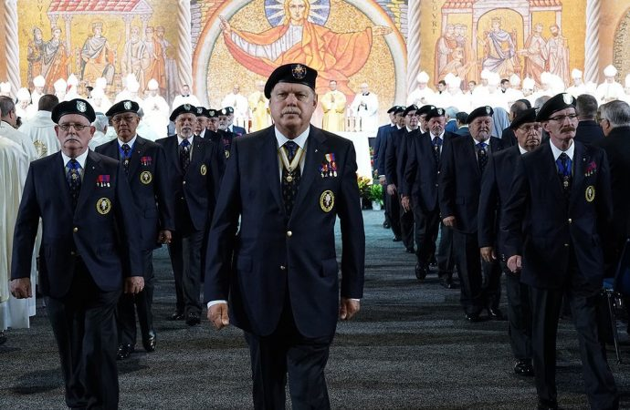 The new uniform of the Knights of Columbus (Photo: Courtesy of the Knights of Columbus).