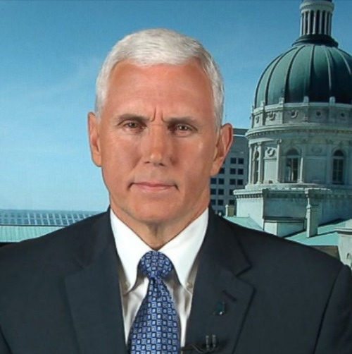 Indiana Gov. Mike Pence appears March 29 on ABC's This Week.