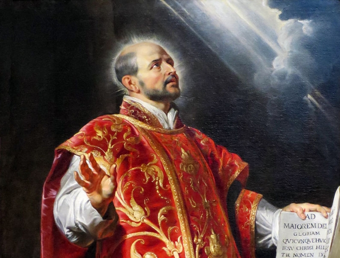"Peter Paul Rubens, ""Saint Ignatius of Loyola"""