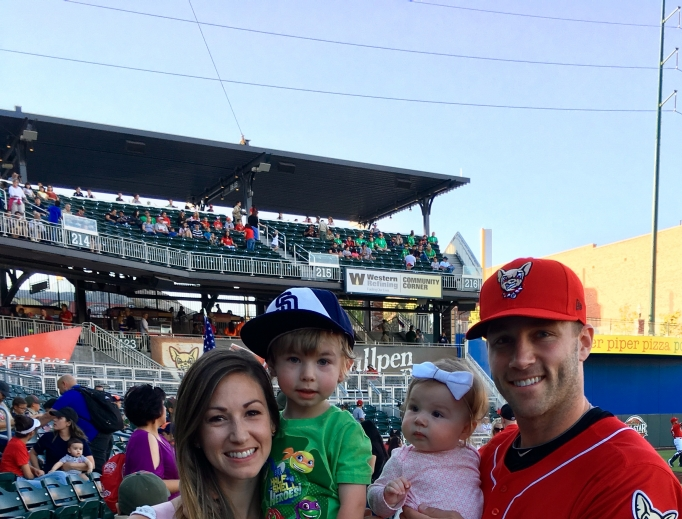 Dusty Coleman and his family