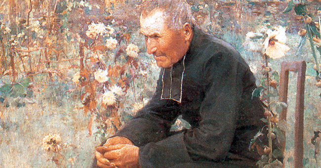 """Jules-Alexis Muenier (1863-1942), """"La Leçon de catéchisme"""""""