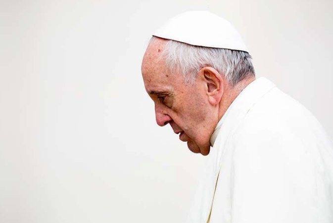 A Screen Shot of Pope Francis