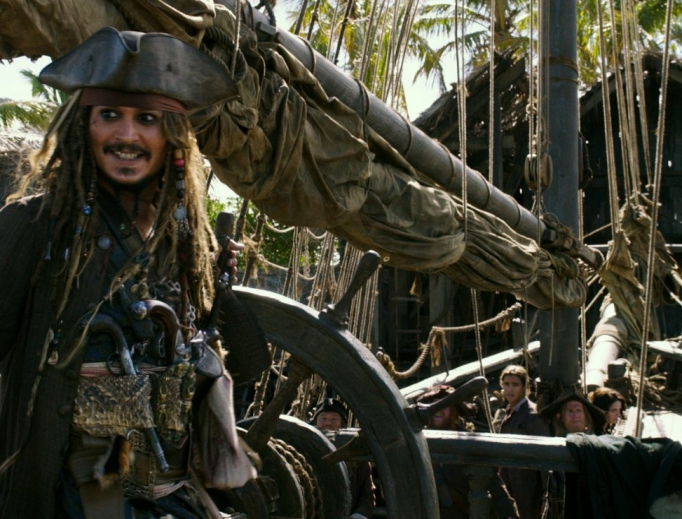 The latest outing for Capt. Jack Sparrow (Johnny Depp) is a deepening disappointment.