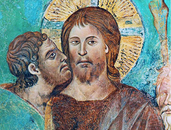 """Cimabue (1240-1302), """"The Capture of Christ"""""""