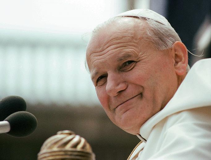 Pope John Paul II in 1979