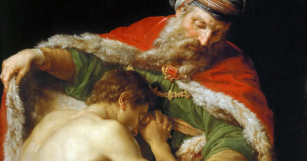"Pompeo Batoni (1708-1787), ""The Return of the Prodigal Son"""