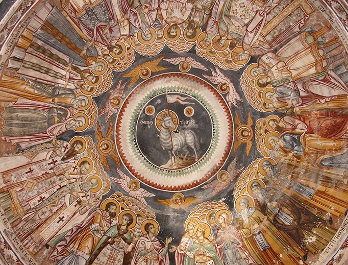 Fresco of the Apocalypse from a Mount Athos monastery