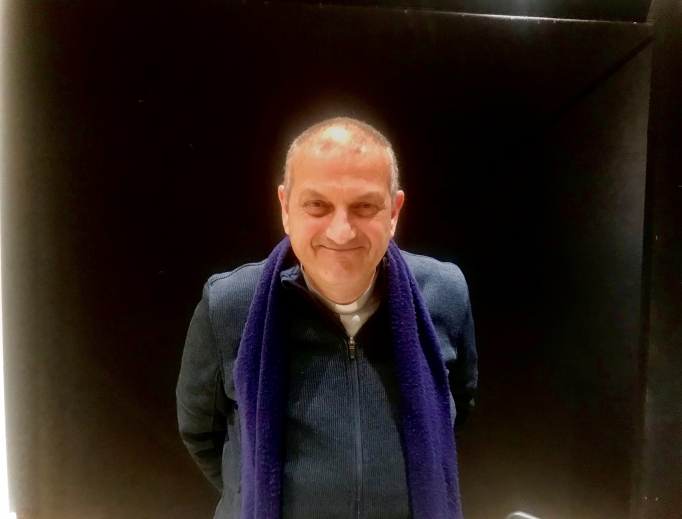 On Feb. 8 Father Jacques Mourad presented about his book detailing his horrific ordeal.