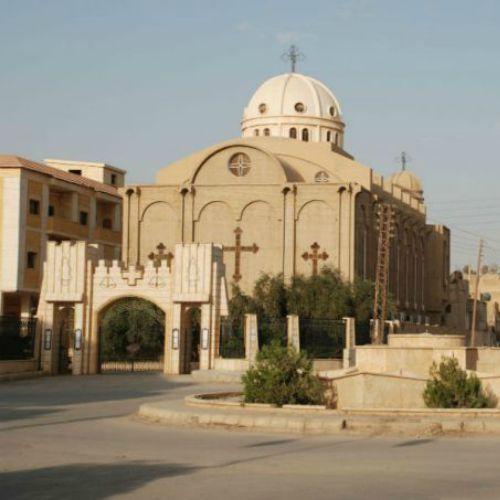 A Christian church in Al-Hasakah, Syria, in 2009