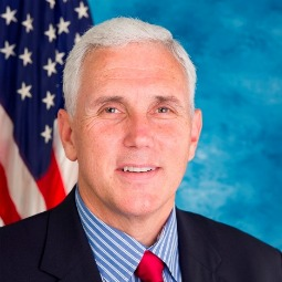Congressman Mike Pence, sponsor of an amendment to ban federal funding of Planned Parenthood, which became a bone of contention in budget negotiation between congressional leaders and the White House last week.