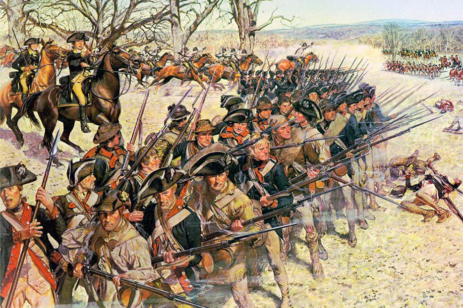 "H. Charles McBarron (1902-1992), ""The Battle of Guilford Courthouse"""