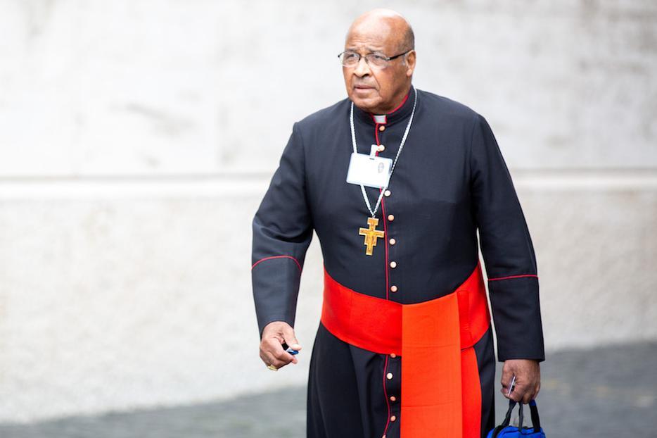 Cardinal Wilfrid Napier.