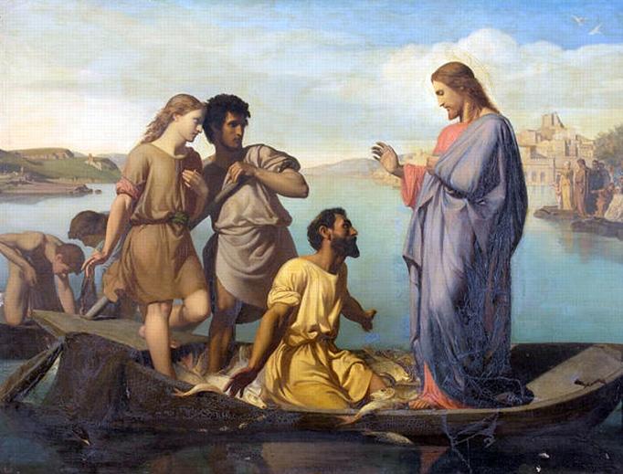 "Henri-Pierre Picou, ""The Miraculous Draught"", 1850s"