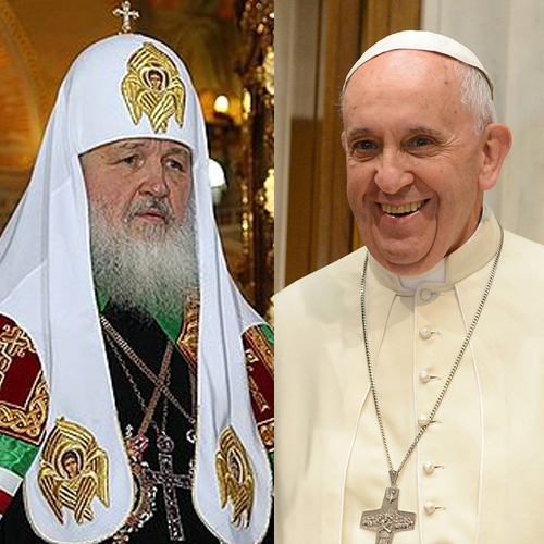 Russian Orthodox Patriarch Kirill and Pope Francis will meet today in Havana.