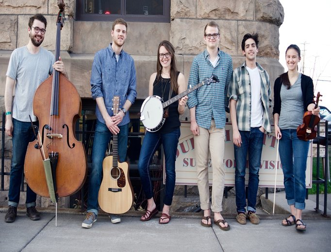 Aly Aleigha (c) and her band put Catholic teaching to music.