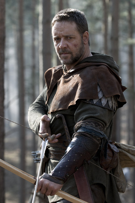 NOT LEGENDARY. In the new Robin Hood, starring Russell Crowe, the legend's traditional themes of economic oppression, banditry and derring-do have been displaced by a Norman scheme of conquest.