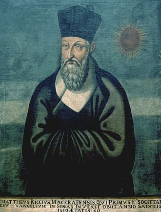Servant of God Father Matteo Ricci, who was a missionary to China.
