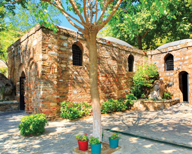 The residence believed to be the home of the Blessed Virgin Mary in Ephesus, Turkey, which was discovered by Sister Marie de Mandat-Grancey (Shutterstock photo)