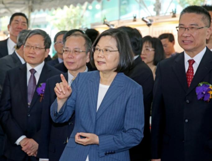 President Tsai Ing-wen of Taiwan, Mar 29, 2019.