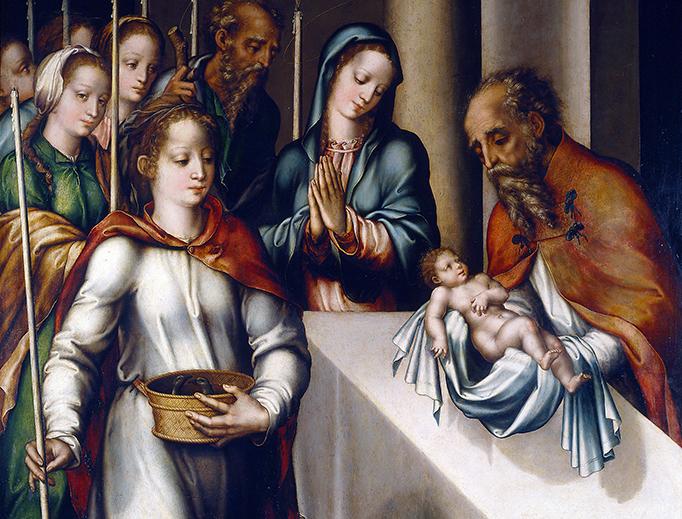 "Luis de Morales, ""The Presentation in the Temple,"" 1562"