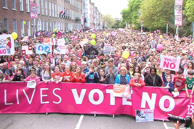 Stand Up for Life Rally, Dublin