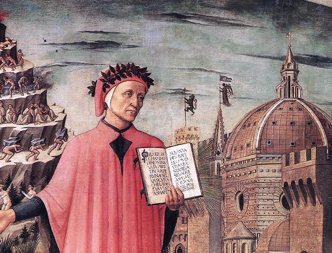 """Domenico di Michelino, """"Dante"""", 1465"""